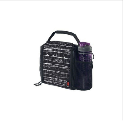 Leakproof PE Foam 30cm Insulated Zippered Grocery Bags