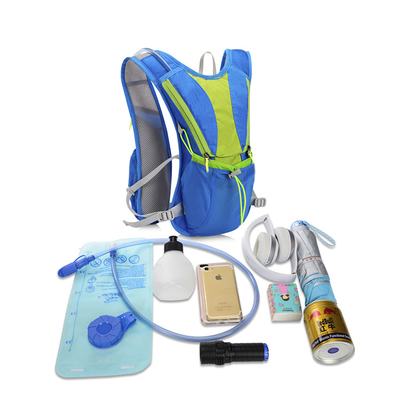 12L Multi Functional Sport Bags Nylon Vest Hydration Backpack